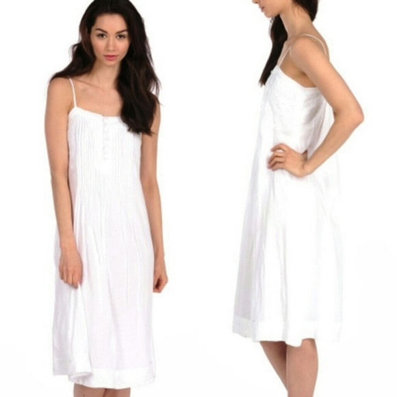 House of Harlow 1960 Dresses & Skirts - House of Harlow White Pleated Button Midi Dress M